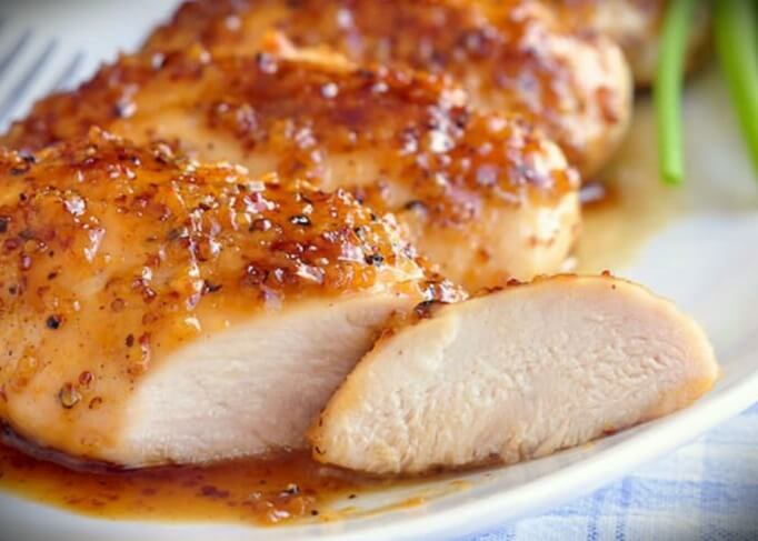 pechuga de pollo a la miel