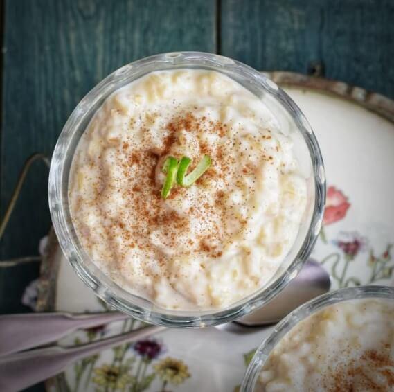 arroz integral con leche