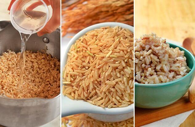 como cocinar arroz integral