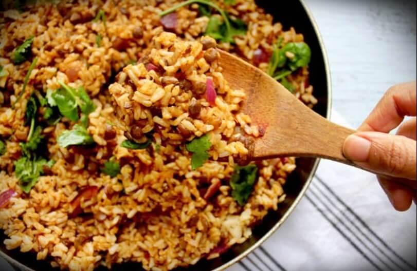 receta-de-lentejas-con-arroz
