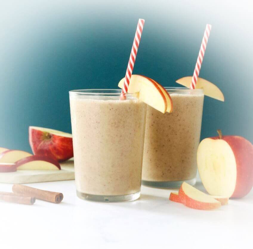 como-hacer-smoothie-de-manzana
